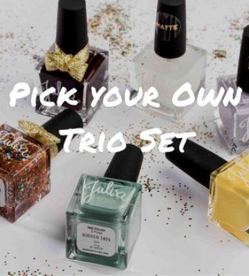 Pick Your Own Vegan Nail Polish Trio Set