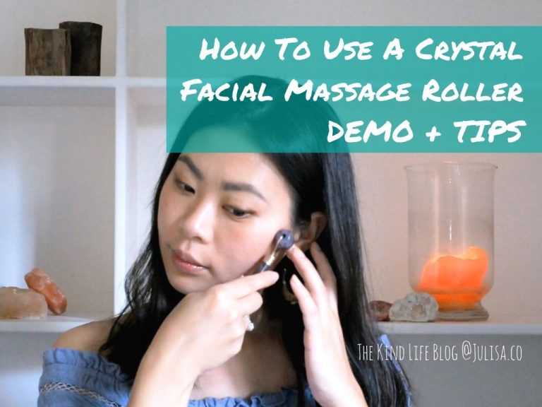 How To Use A Crystal Facial Massage Roller – DEMO + TIPS!
