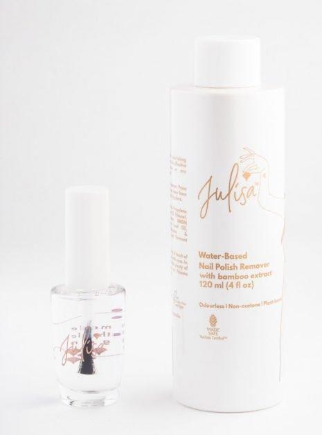Julisa Vegan Toxic Free Nail Polish and Polish Remover Set JULISA.co