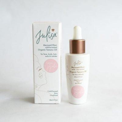Mermaid Elixir Organic Skin Oil 'Glass Skin' Hydrating Blend | Rose Jojoba Tamanu 30ml JULISA.co