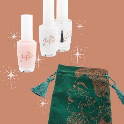 French Ombre Manicure Kit | JULISA Vegan Nail Polish